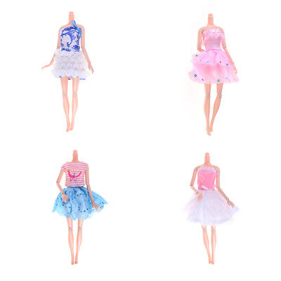 Doll clothes dress fashion skirt party for doll accessories girl best gift