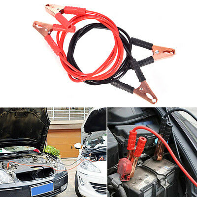 2m 500 amp car battery booster power wire line emergency cable line cable clip