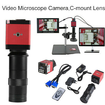 130X 14MP 1080P HD HDMI VGA Digital Industry Video Inspection Microscope Camera