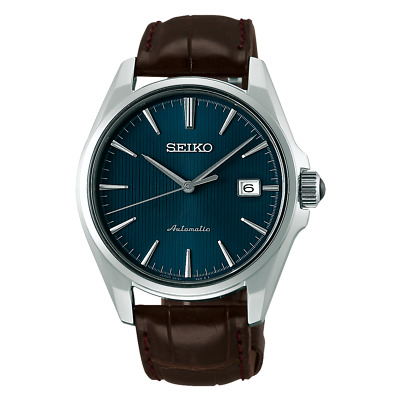 Brand New SEIKO Presage SARX047 Automatic Blue Dial Leather Men's Watch New ES*1