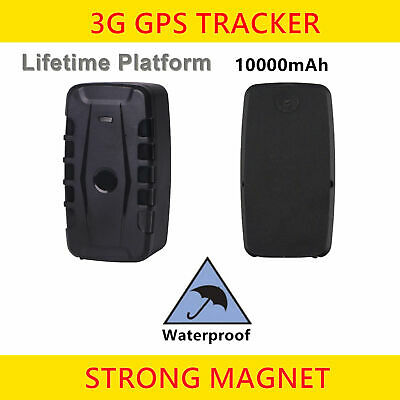 3G GPS Tracker Portable Real Time Location Tracking Device Magnetic & Waterproof