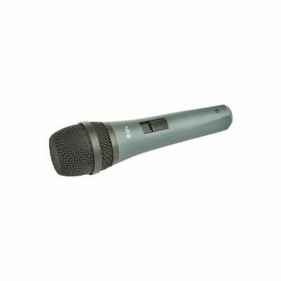 QTX DM18 Dynamic Vocal Microphone With Metal Body & On/Off Switch