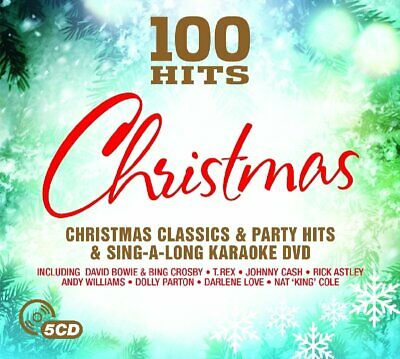 100 Hits - Christmas Box Set 5 discs   Brand new and sealed