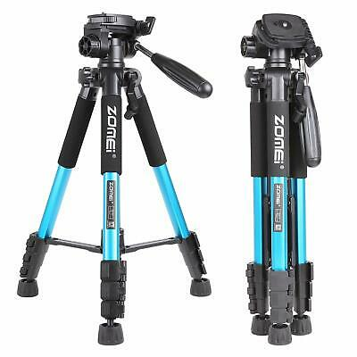 "Zomei 55"" Aluminum Tripod Heavy Duty Travel Flexible For Nikon Canon DSLR Camera"