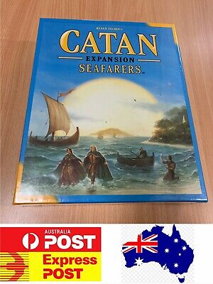 Settlers Of Catan 5th Edition Seafarers Expansion, Melbourne Stock