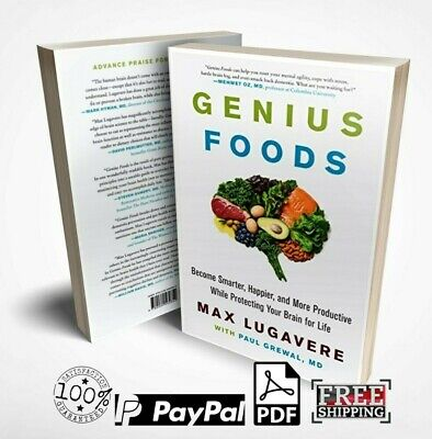 Genius Foods: Become Smarter, Happier,(E book, PDF) Master Resell rights