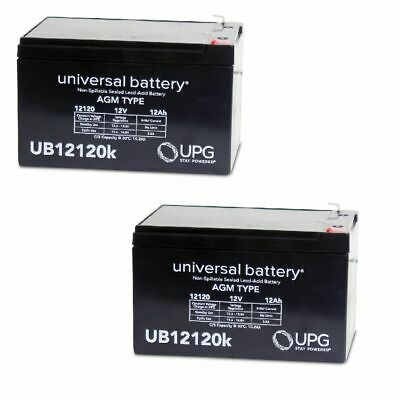 Mighty Max Battery ML15-12 12V 15AH F2 UPS Battery for Chloride 100001013602012V Brand Product