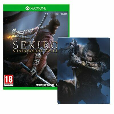 Sekiro Shadows Die Twice + Steelbook (Xbox One)  NEW AND SEALED - QUICK DISPATCH