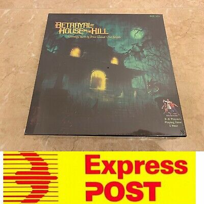 Betrayal At House On The Hill, A Strategy Board Game, AU Stock, Express Post