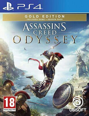 Assassin's Creed Odyssey - Gold Edition (PS4)  BRAND NEW AND SEALED - IN STOCK