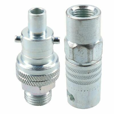 """PCL Instant Air Coupler 1/4"""" BSP Female Thread & Swivel Male Adaptor Fitting"""
