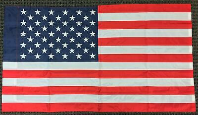 6ab8e661d7c6 50 x 28 Inch United States Nylon Embroidered Applique Banner Flag USA  American