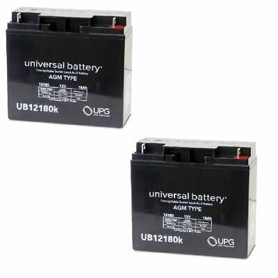 New 2 Pack Upg Ub12180 12V 18Ah Jumper Pack Booster Box Battery Replacement