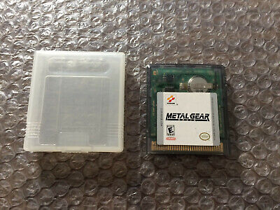 Metal Gear Solid (Nintendo Game Boy Color, GBC) -- Authentic Game Cart Only --