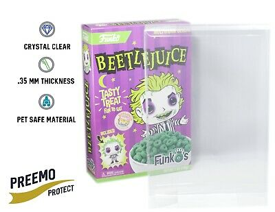 Funko Pop! Funko's Cereal Protectors - Acid Free - Crystal Clear - 1 to 25 pack