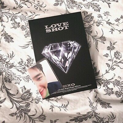LOVE SHOT by EXO The 5th Album Repackage [Love Ver.] US Seller D.O. Photocard