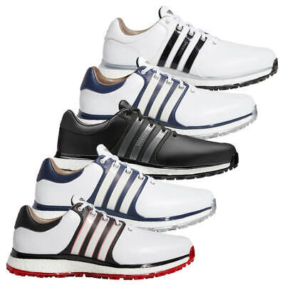 watch 28eab 23e92 adidas Golf Mens 2019 Tour360 XT-SL Spikeless Leather Lace Up Golf Shoes