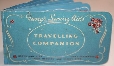 Vintage Newey's Sewing Aids Traveling Companion