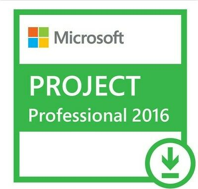 MS Project 2016 Professional License Key 32/64 bit 01 PC