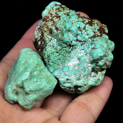 355.7Ct 100% Natural Brain Turquoise Nugget Intact Specimen YSTc1396
