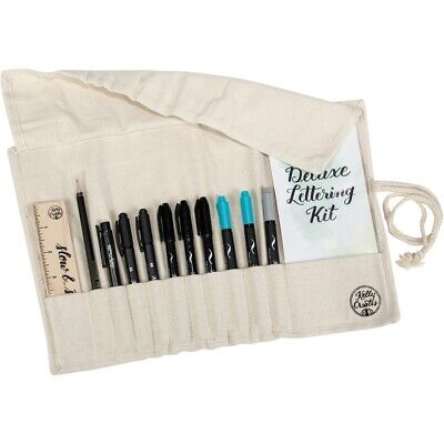 Kelly Creates Deluxe Lettering Kit 13/pkg-canvas