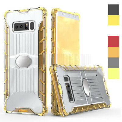 Slim Hybrid Clear TPU Case Shockproof Bumper Cover For Samsung Galaxy Note 8
