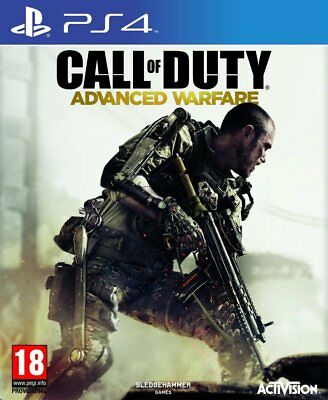 Call of Duty: Advanced Warfare (PS4)  NEW AND SEALED - IMPORT - QUICK DISPATCH