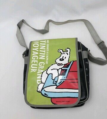 TINTIN GRAND VOYAGEUR School Bag Shoulder Pack Des Soviets À L'ALPH-ART