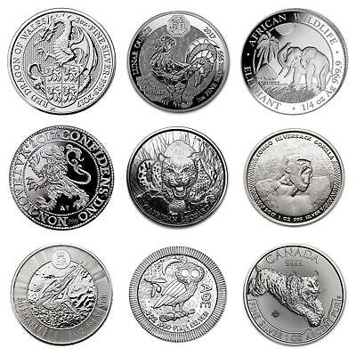 2017 1oz 2oz Silver Bullion Silver Beast coins and Capsules 38.6 40.6