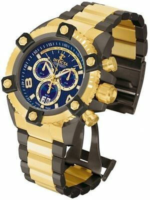 Swiss Made Invicta 13678 Reserve Arsenal Gold Tone SS Chronograph Men's Watch