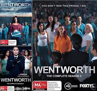 WENTWORTH : Complete Seasons 1 2 3 : NEW DVD