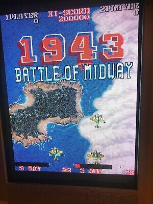 1943 Battle  Of Midway Jamma Pcb  . Working 100%