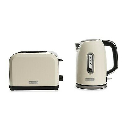 Haden Chiswick Twin 1.7 Litres Electric Jug Kettle & 2 Slice Bread Toaster Set