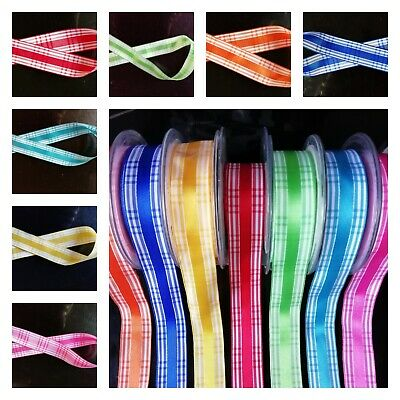 Candy Check Berisfords Ribbon Various Lengths and Widths
