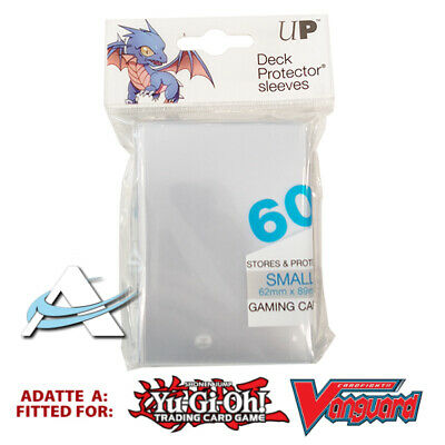 60 Bustine Protettive NEW Ultra PRO Small Size Sleeves • Trasparente Clear