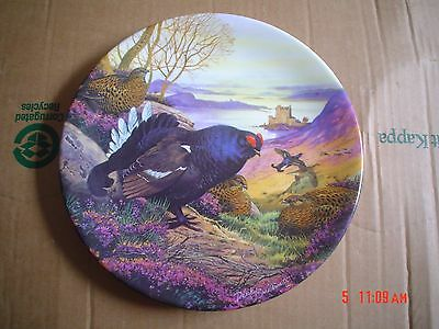 Royal Grafton Collectors Plate BLACK GROUSE