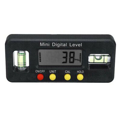 Electronic Angle Finder Digital Protractor Gauge 4x90° Tool Inclinometer 1pc
