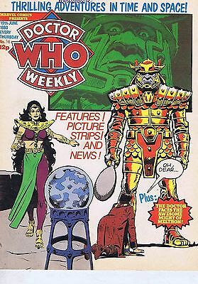 DR WHO MAGAZINE no. 36