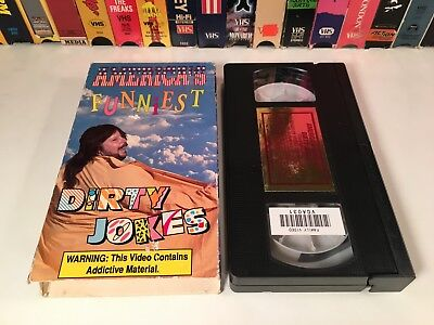 * America's Funniest Dirty Jokes VHS 1991 Comedy Magnum Video Joke Video