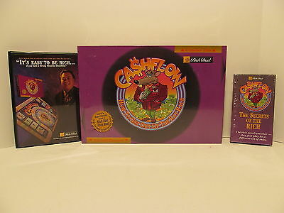 RICH DAD CASHFLOW BOARD GAME ROBERT KIYOSAKI NEW FACTORY SEALED + Tape Cassettes