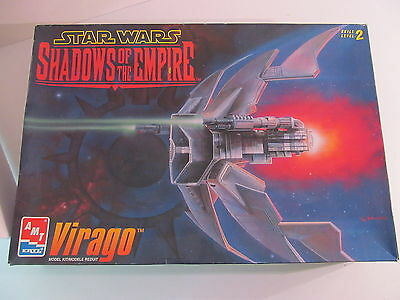 Star Wars Shadow of the Empire Virago AMT/ ERTL Model Kit Bag Sealed In Box