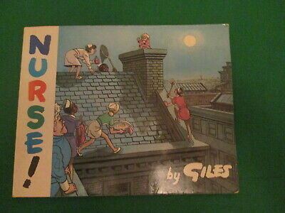 Nurse ! - By Giles - Newspaper Cartoon Book - 1975