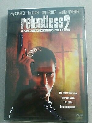 Relentless 2  Dead On DVD Rare OOP Leo Rossr Region 1 USA NEW Sealed