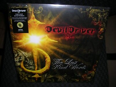 DevilDriver *The Last Kind Words *NEW YELLOW PINK RECORD LP VINYL INDIE ONLY