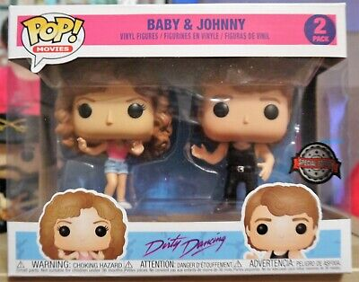 Funko Pop - Dirty Dancing - Baby & Johnny - Special Edition # 696 & 697 - Neuf