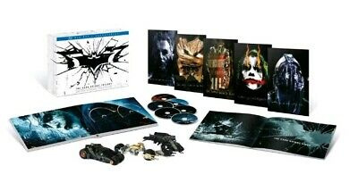 The Dark Knight Trilogy: Ultimate Collectors Edition (Blu-ray Disc, 2013, 6-Dis…
