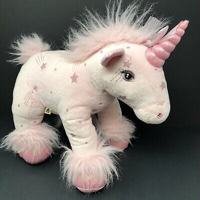 920e493d954 BUILD A BEAR Unicorn Sparkles Pink Shooting Star Stuffed Animal Plush Toy 16