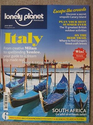 Lonely Planet Traveller July 2017 Italy La Gomera Canary Islands Craft Beers