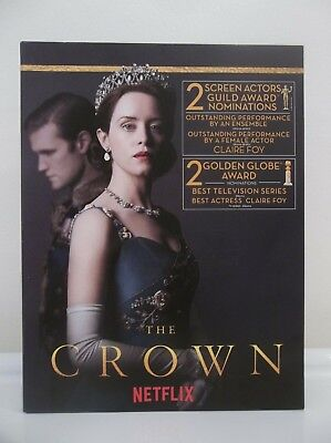 The Crown Complete Season 2 Netflix 2018 Fyc Dvd Rare Emmy Promo Set Claire Foy