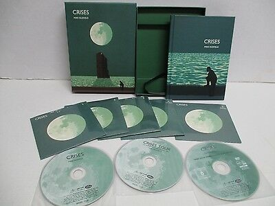 MIKE OLDFIELD crises 374 044-8 30TH ANNIVERSARY 3CD+2DVD BOX LIMITED EDITION /*